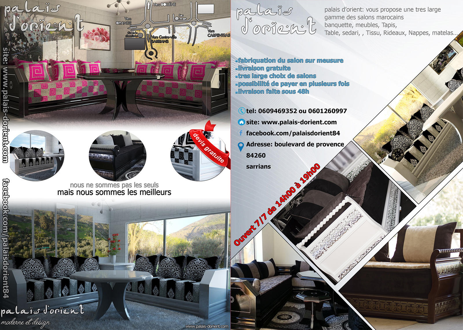 Latest salons marocains avignon sorgues with salon avignon for Salon a avignon